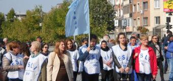 Acțiuni de pichetare și protest în Piața Prefecturii din Craiova